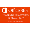 Office 365 Training for Financial Advisors 12 classes