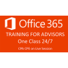 Office 365 Training for Financial Advisors Single Class